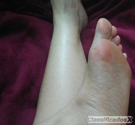 Foot fetish no teu carro ???