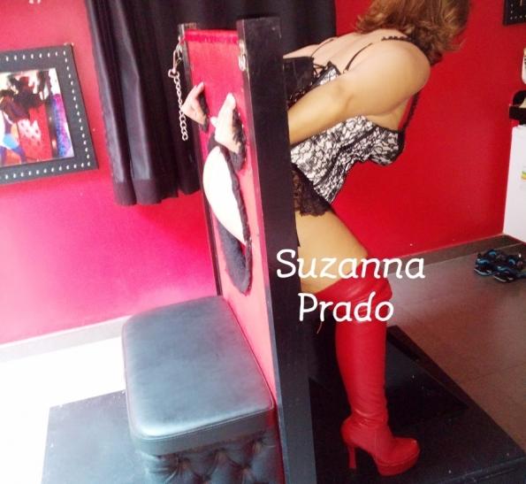 Dominadora em São Paulo Rainha Suzanna Prado-Bela